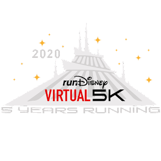 RunDisney Virtual 2020 - Space Mountain