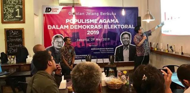 Indikator Politik : Nahdlatul Ulama Jadi Penentu Kemenangan Jokowi