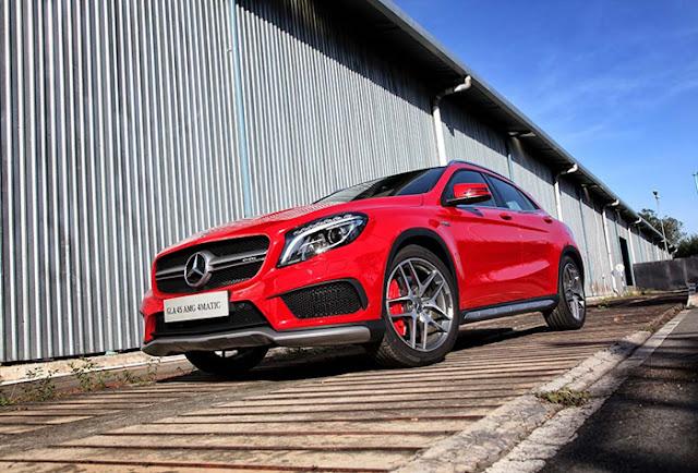 Mercedes AMG GLA 45 4MATIC có thiết kế ấn tượng, vận hành vô cùng an toàn