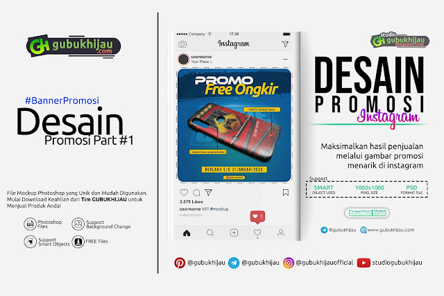 Contoh Desain Promosi Part #1  by gubukhijau