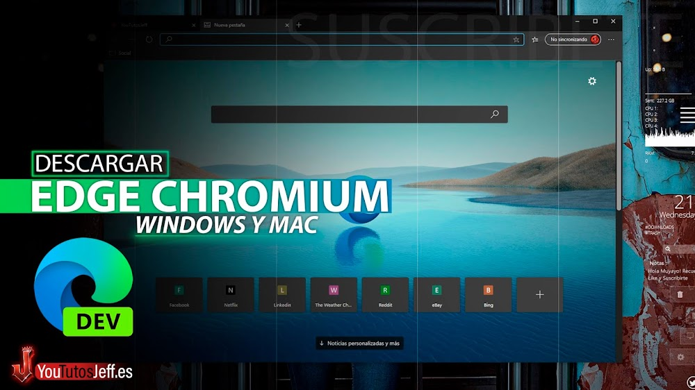 Como Descargar Edge Chromium Ultima Versión para Windows y Mac