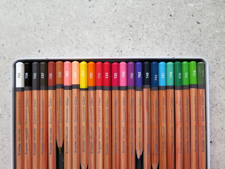 Kredki Bruynzeel expression colour – czy polecam?
