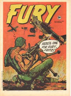 Marvel UK, Fury #12
