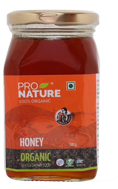 Pro Nature 100% Organic Honey, 500g