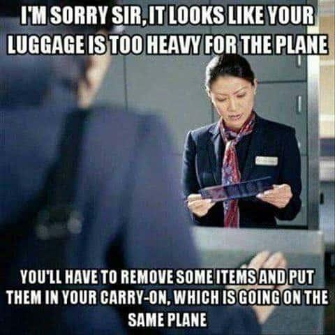 Airliner sarcasm