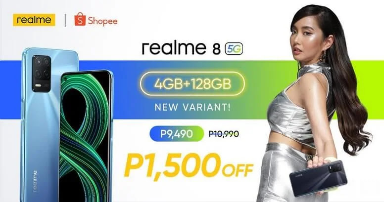 realme 8 5G 4GB + 128GB Launching this July 15 for Only Php9,490