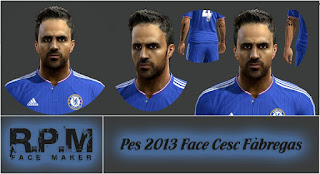 Face Cesc Fabregas 2016 PES 2013 By Vicen