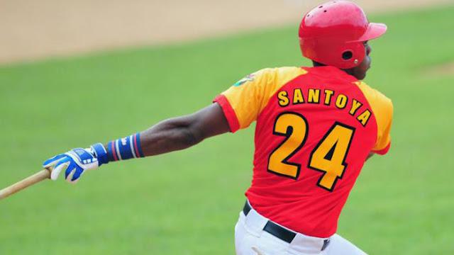 Sencillo de Yasiel Santoya con bases llenas al final del undécimo inning decidió por los Cocodrilos