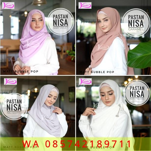 keisha hijab model terbaru pastan nikita 2019