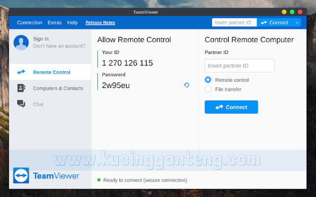 Cara Install TeamViewer di Debian, Ubuntu dan Linux Mint