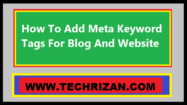 How To Add Meta Tag In HTML For Blog And Website