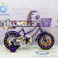 Previa Flower Sepeda Anak