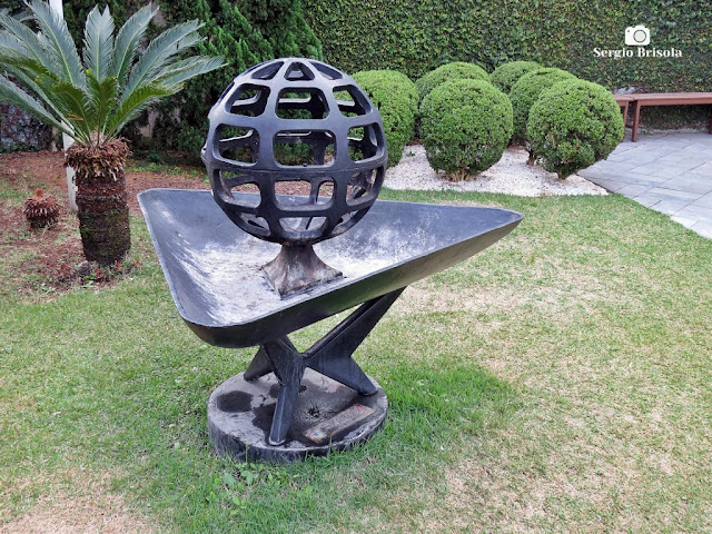 Close-up da Escultura Globo - Santuário de Schoenstatt - Vila Mariana - São Paulo