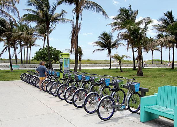 DecoBike em Miami Beach