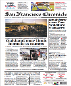 San Francisco Chronicle Magazine 19 October 2020 | San Francisco News | Free PDF Download