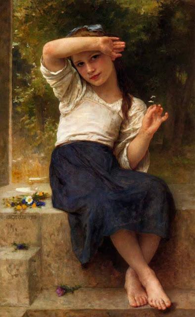 Адольф Вильям Бугро - Маргаритка (1903)