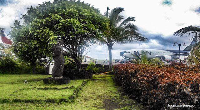 Aeroporto de Mataveri, Ilha de Páscoa