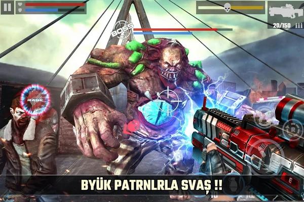 dead target zombie hile apk