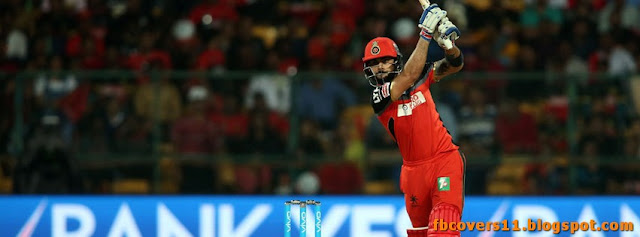 Virat Kohli Royal Challengers Bangalore Facebook Cover 2016