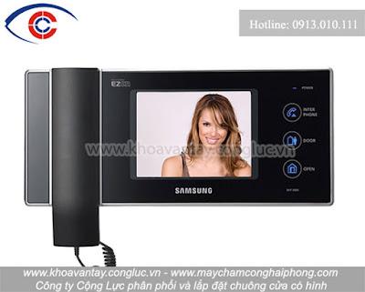 Chuông cửa màn hình SAMSUNG SHT-3006XM/EN
