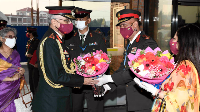 Indian army chief and nepal army chief