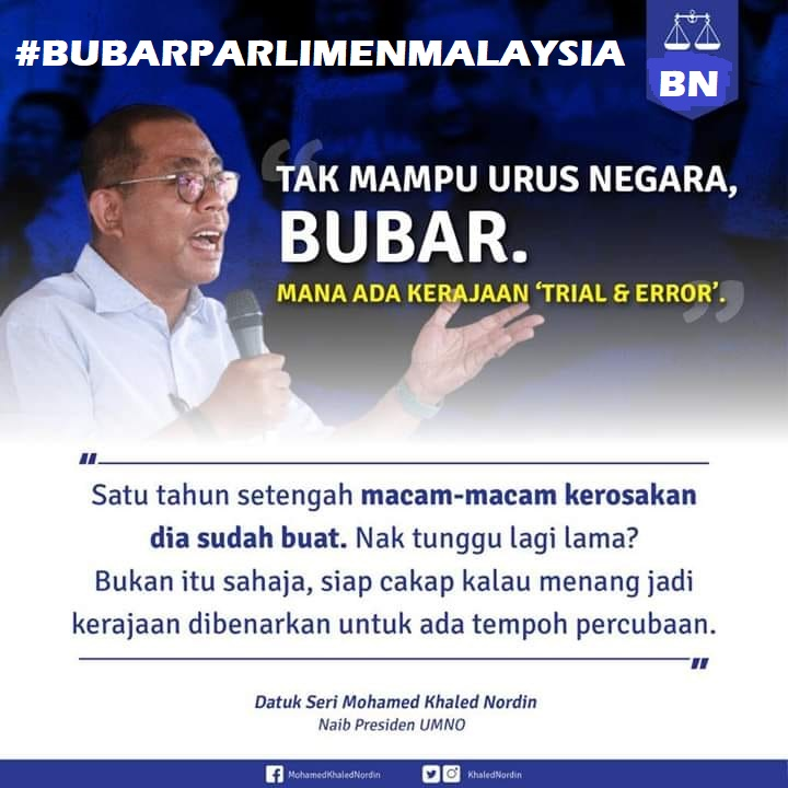 Regime Bangsa DAP-PH Sedang Membina Persepsi Buruk Terhadap Urus-Tadbir Professional Bumiputera Islam