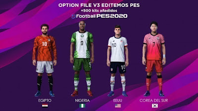 PES 2020 PS4 Editemos PES Option File V3 AIO