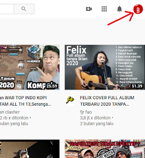 Cara Membuat Dark Mode Youtube di PC