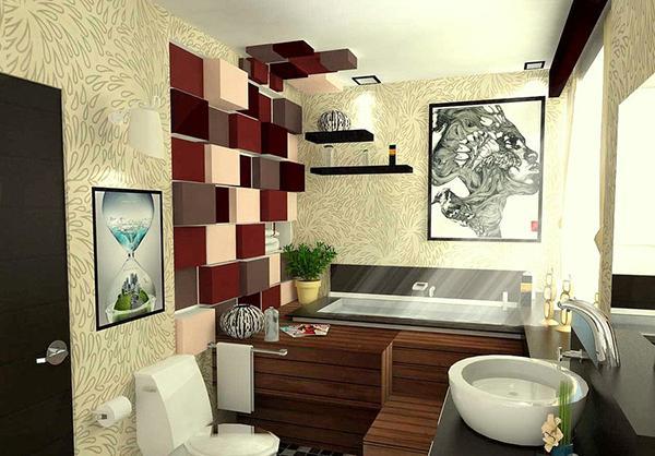 Kamar mandi nyaman modern