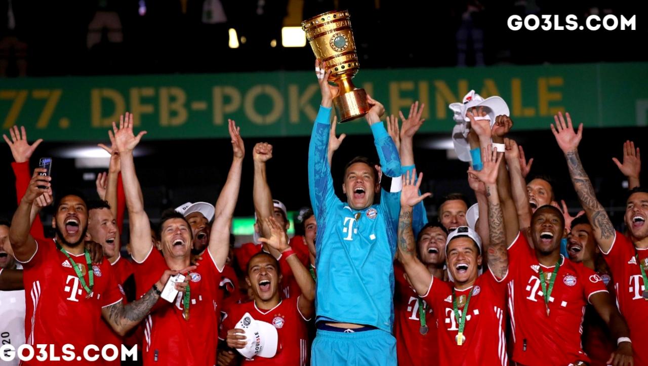 تتويج بايرن ميونيخ كأس ألمانيا