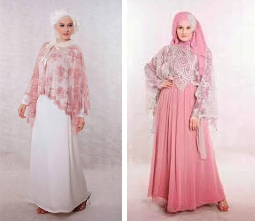 model baju brokat muslim