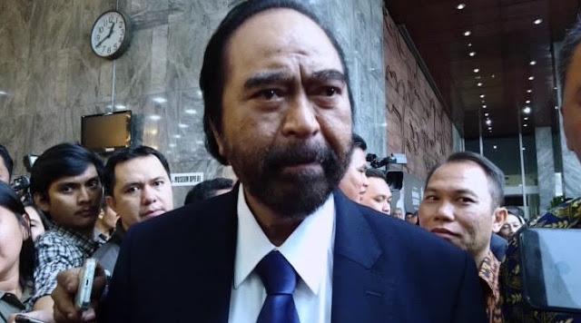 Jokowi Ucap Sontoloyo, Surya Paloh: Wajar Sekali