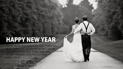 Happy New Year 2017 Wishes for Boyfriend