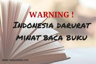 """Membangun Indonesia """" Gila """" Membaca"""