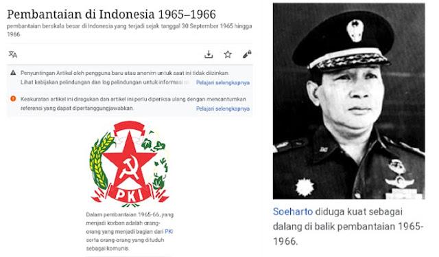 PKI Sebagai Korban dalam Wikipedia, Peneliti: Itu Sesat dan Pembodohan
