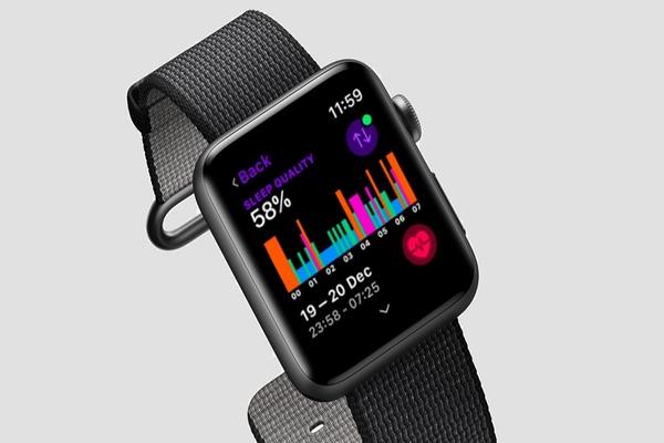 أبل كشفت بالخطأ عن تطبيق Sleep لـ Apple Watch