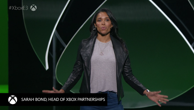 Sarah Bond head of Xbox Partnerships Microsoft E3 2019 Game Pass Ultimate