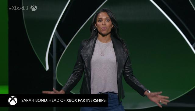 Sarah Bond head of Xbox Partnerships Microsoft E3 2019 Game Pass Ultimate