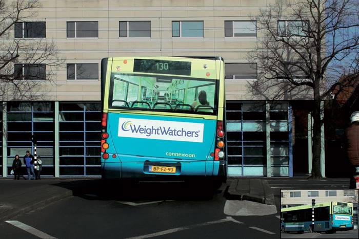 Advertising a company that helps people lose weight, the Netherlands