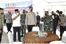 TNI-POLRI dan Pemda Sinergi Gelar Serbuan Vaksin di Maluku