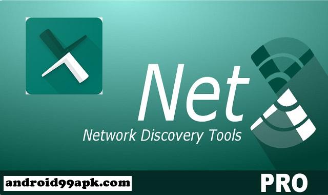 تطبيق NetX Network Tools PRO v8.1.0.0 لمراقبة وإدارة شبكة الويفي مدفوع كامل بحجم 11 ميجابايت للأندرويد