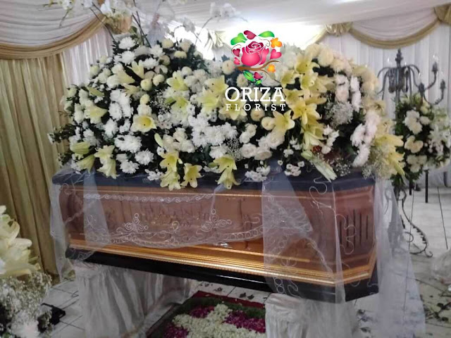 Jasa Rias Bunga Tutup Peti Mati Surabaya