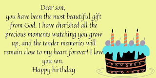 best birthday wishes for son