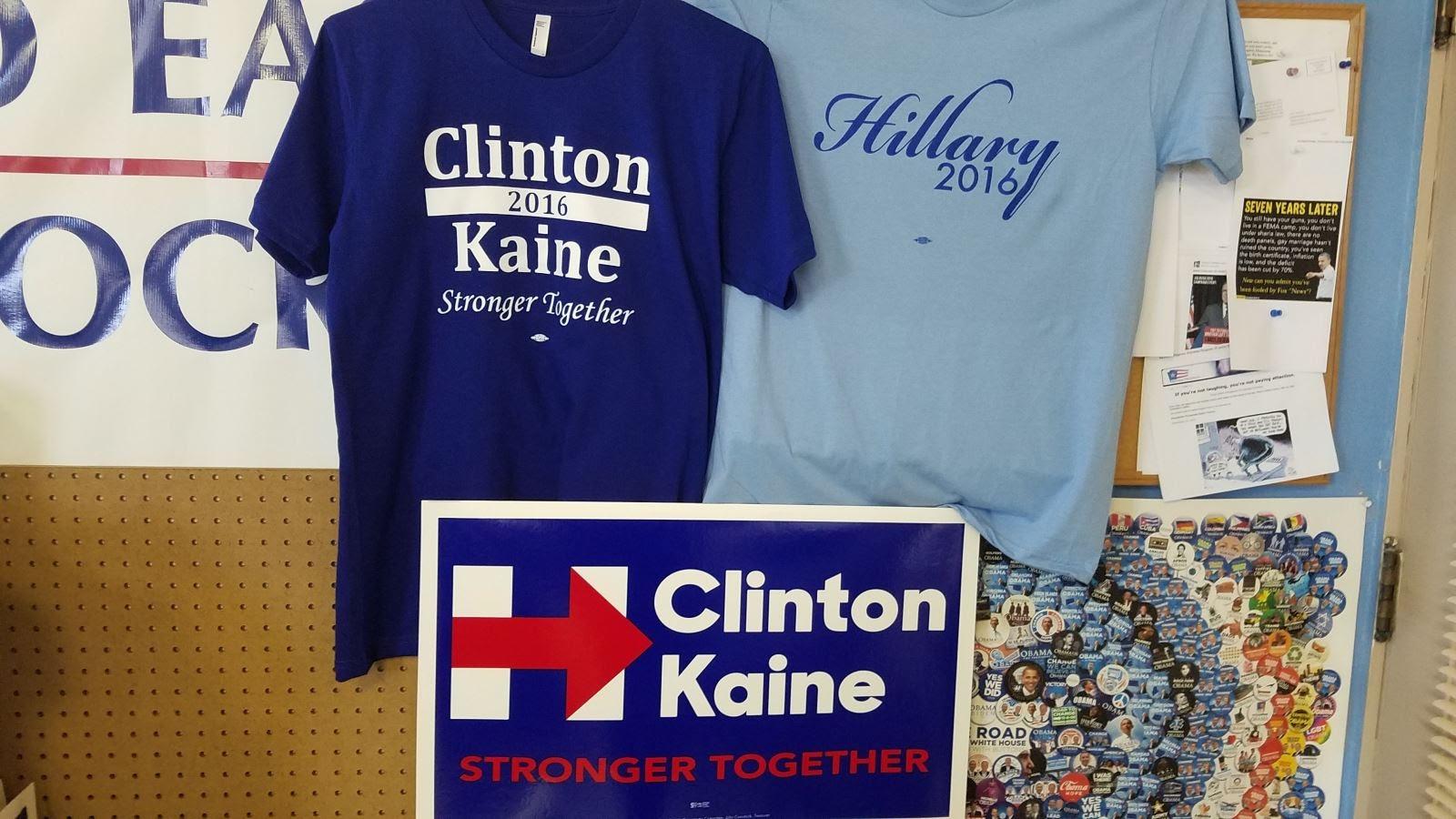 Tony S Kansas City Kansas City Hillary Clinton Signs