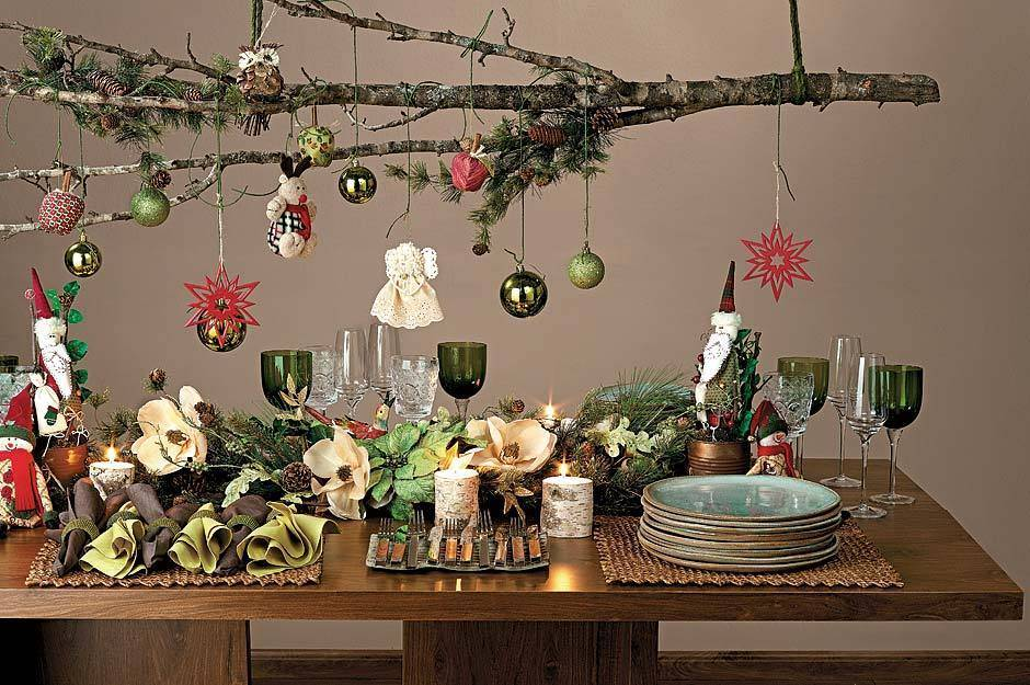 Home Christmas Decoration October 2012 & Christmas Table Decorations Ideas 2012 - Elitflat