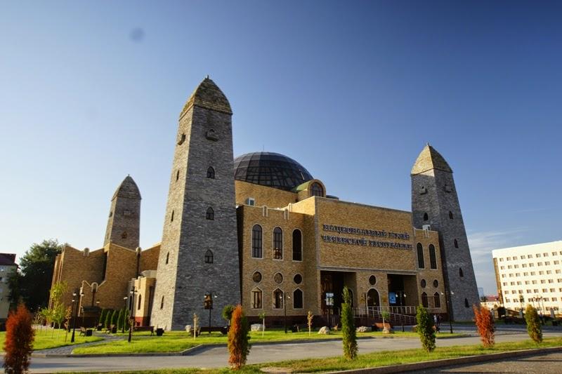 Czeczenia - Muzeum narodowe w Groznym