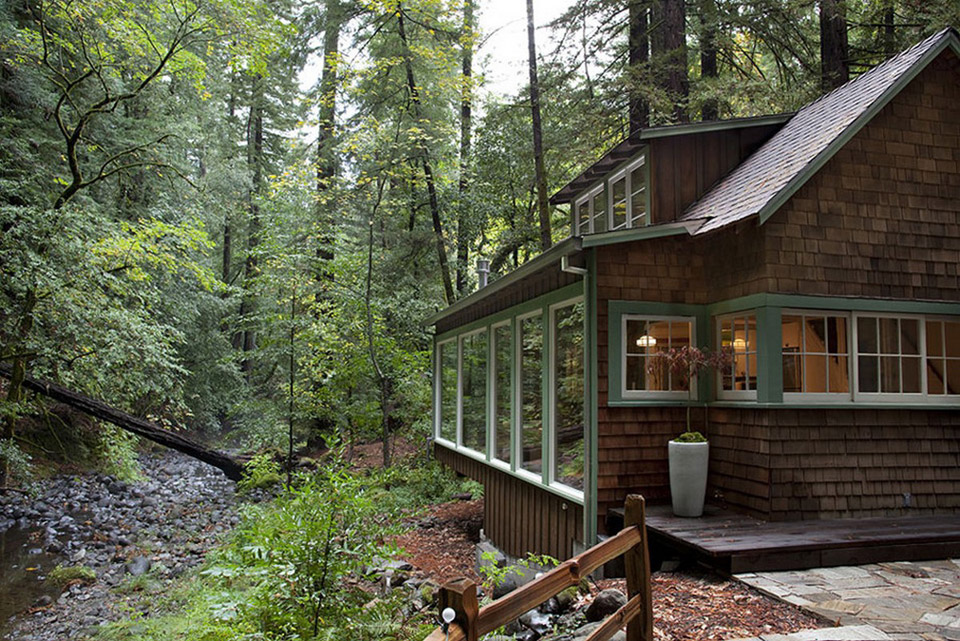 The Well Appointed Catwalk 1920s Creekside Cabin Restored