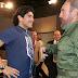 "Estero. Maradona a Cuba per i funerali di Castro, ""per me un secondo padre"""