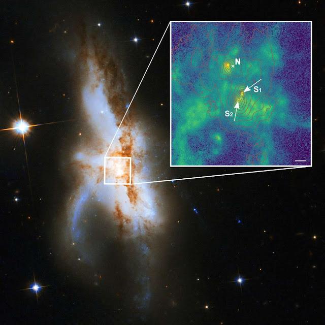 NGC 6240 zoom