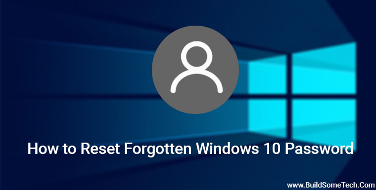 How to Reset Forgotten Windows 10 Password with Linux Live CD
